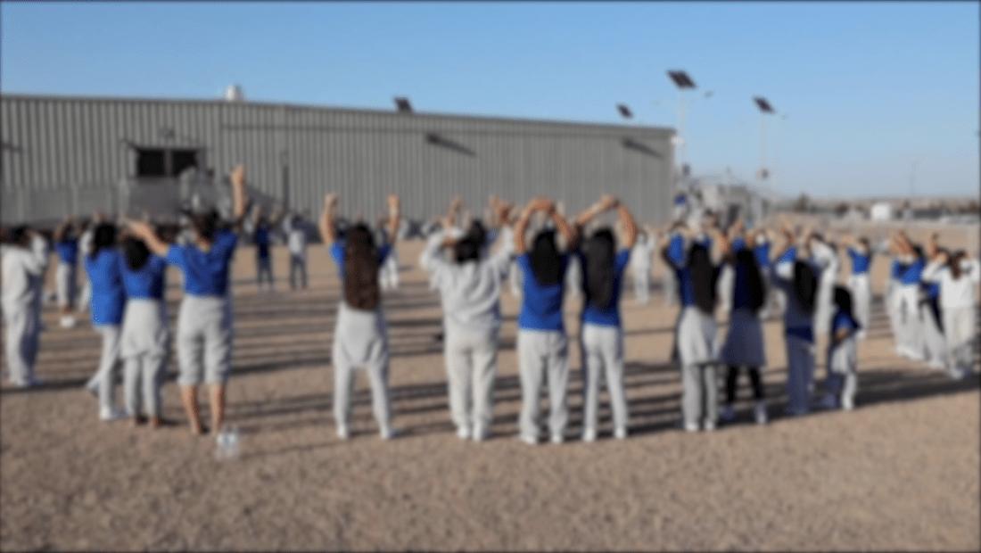 Menores inmigrantes denuncian condiciones de refugio