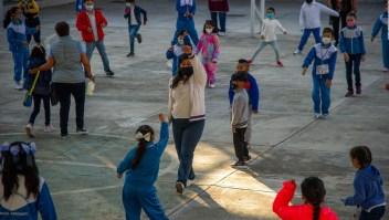 Las escuelas de México abren tras 17 meses por pandemia