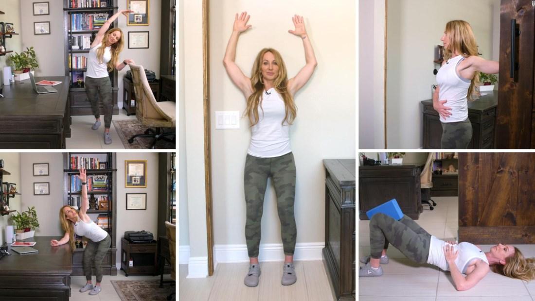 5 ejercicios para quienes pasan mucho tiemposentados