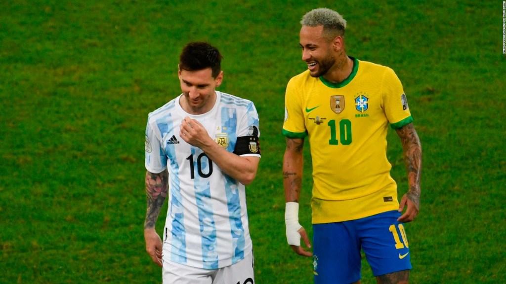 Messi dice que sus amigos en el PSG influyeron en él