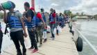Migrantes en Necoclí piden corredor humanitario