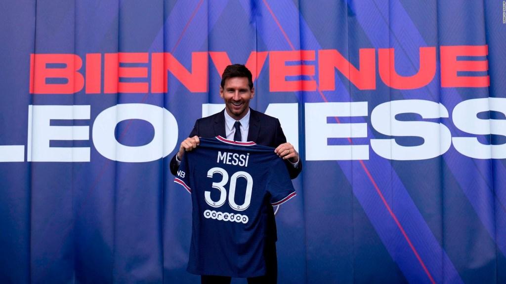 """Messi génère des millions de """"J'aime"""" dans les réseaux du PSG"""