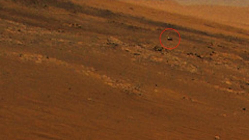 El Ingenuity le toma una foto al Perseverance en Marte