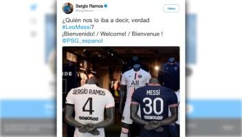 Messi y Ramos, dos rivales que defenderán el mismo barco
