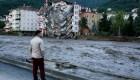 Mira la destrucción causada por las inundaciones en Turquía