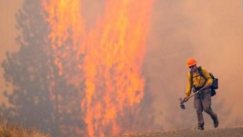 Efectos de incendios forestales aumentan riesgo de covid