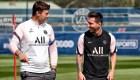 Pochettino se siente privilegiado de entrenar a Messi