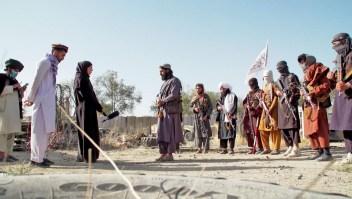 Base militar estadounidense ahora incautada por talibanes