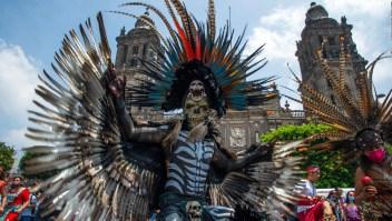 Mexicanos recuerdan 500 años de la caída de Tenochtitlán