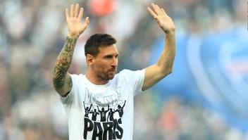 Messi fue ovacionado, pero no jugó