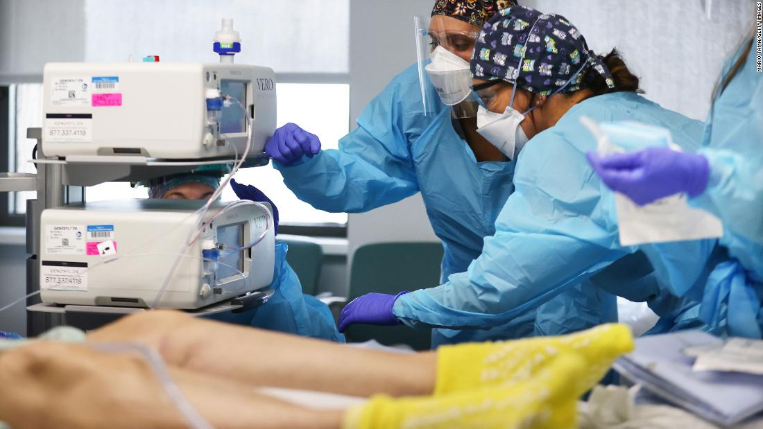 Covid-19: US could soon reach more than 200,000 daily cases
