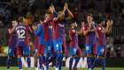 El Barça, aprobado en primer partido sin Messi
