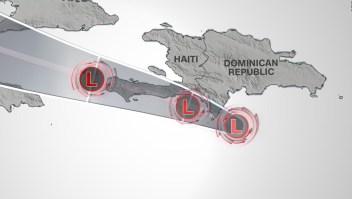Luego del terremoto, Haití enfrentará depresión tropical