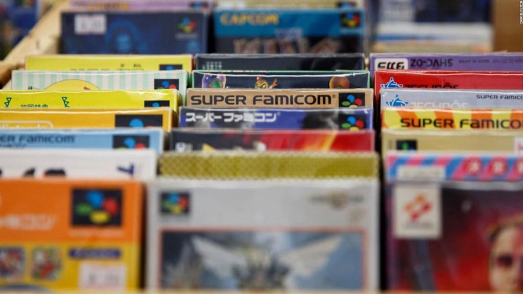 Videojuegos antiguos cobran valor en las subastas