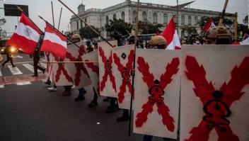 Perú: miles marchan en contra de Castillo