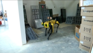 Conoce al robot Spot que monitorea las construcciones