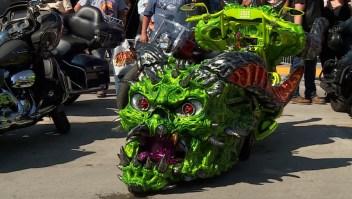Una motocicleta hecha completamente en impresión 3D