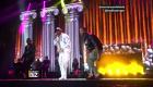 Bad Bunny surprend en concert du groupe Aventura
