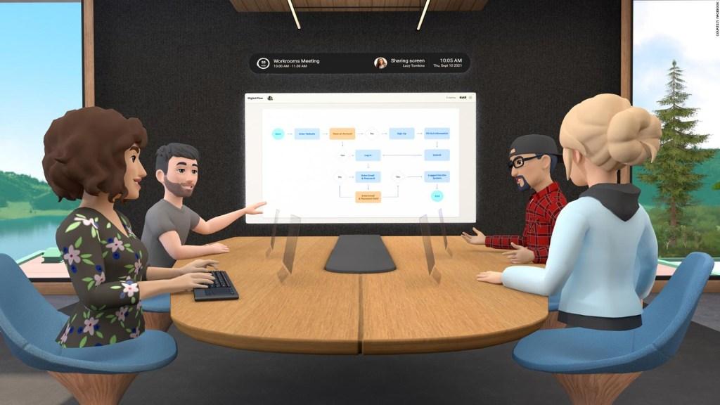 Facebook busca reinventar las reuniones virtuales
