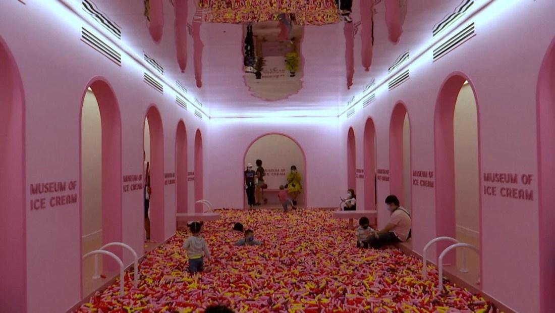 Este es el primer museo del helado en Singapur