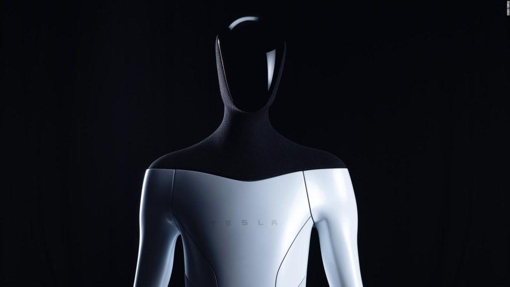 Elon Musk anuncia que Tesla construye robot humanoide