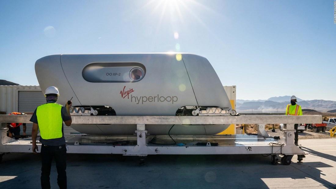 Virgin Hyperloop y su sistema de transporte futurístico