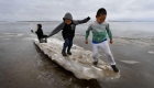 Mga bata na nasa peligro mula sa krisis sa klima