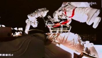 Esta es la segunda caminata espacial de China