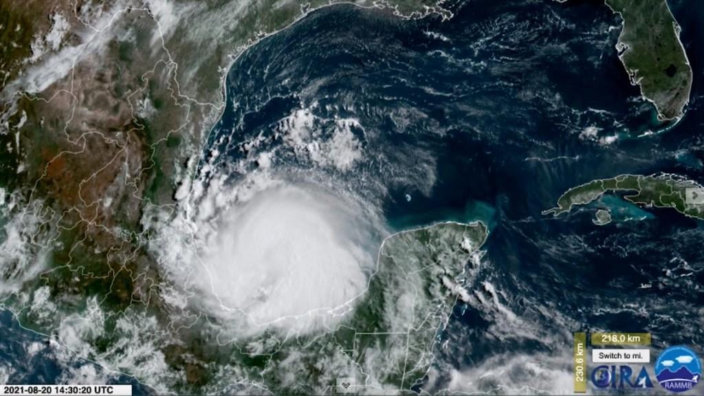 Grace se fortalece e impactará nuevamente a México
