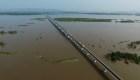 Mira este puente ferroviario que une China con Rusia