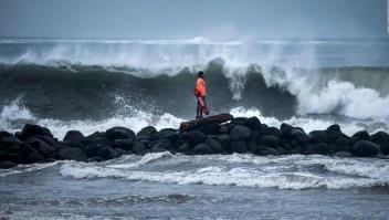 Declaran alerta roja por el huracán Grace en partes de Veracruz, México