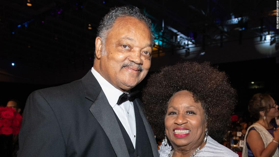 Reverend Jesse Jackson and his wife hospitalized for covid-19