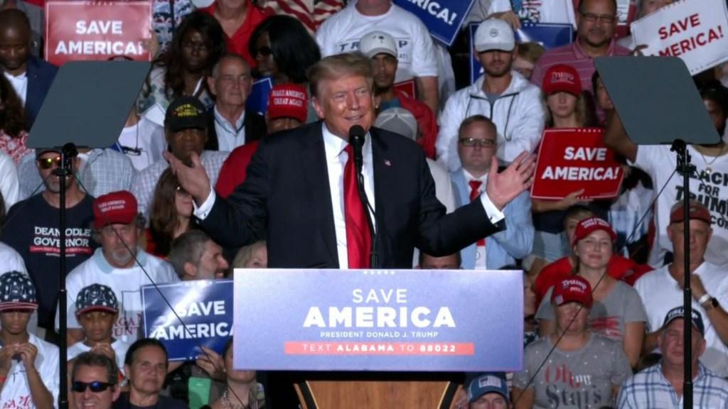 ¿Por qué abuchearon a Trump en Alabama?