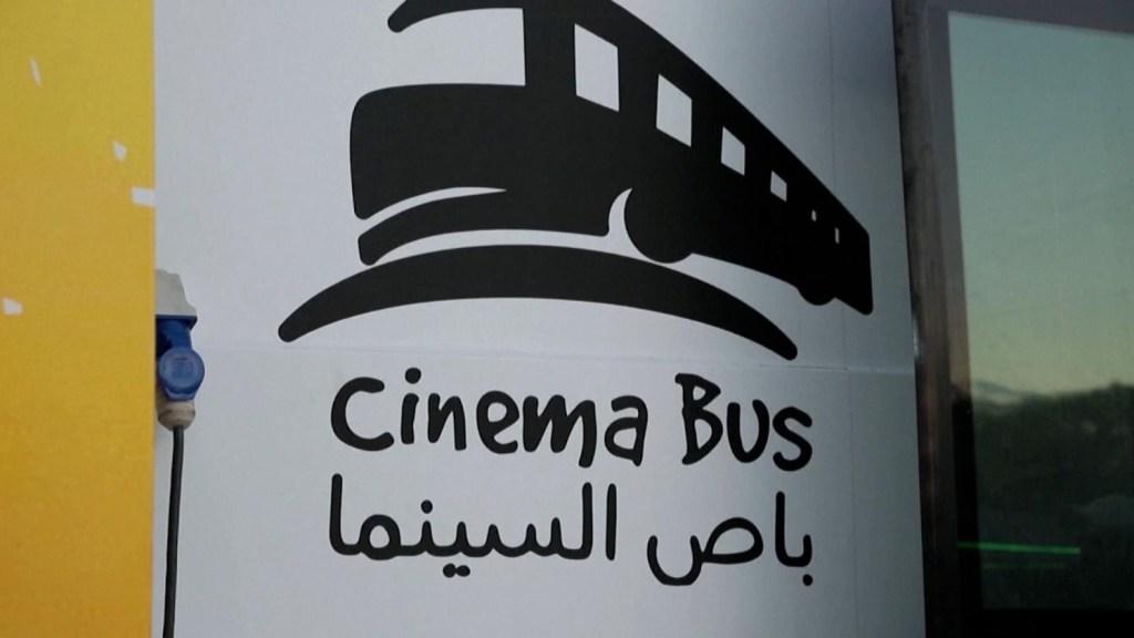 Cine sobre ruedas en Ciudad de Gaza