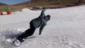África es también un destino con nieve para esquiar