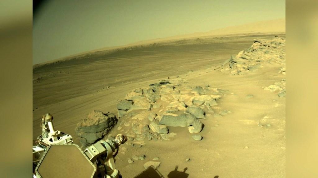 La NASA comparte imagen del paisaje rocoso de Marte