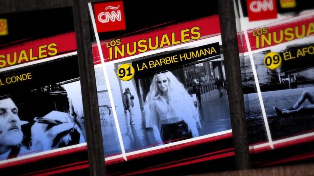 Los inusuales: la Barbie humana
