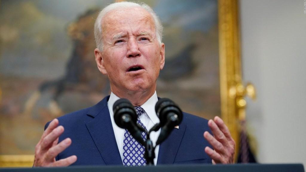 Biden sostiene salida de Afganistán el 31 de agosto