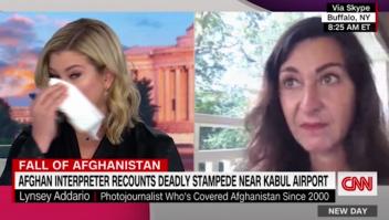 Periodista se emociona tras escuchar una escalofriante nota de voz
