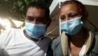 Migrantes hondureños, varados en Guatemala con niños y sin dinero