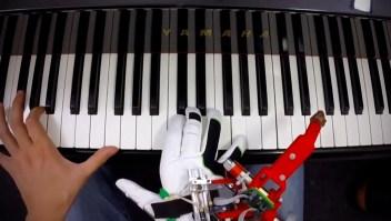 Este pulgar robótico sirve para tocar el piano
