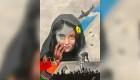 Mira el mural de afgana dividida por realidad de su país