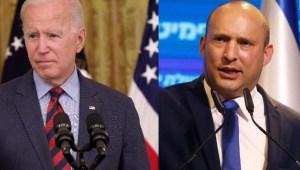 Los temas que tratarán Biden y Bennett en su reunión