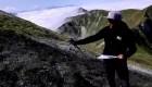 Drones captan una obra de arte en Francia