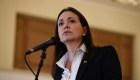 María Corina desaprueba el diálogo sobre Venezuela