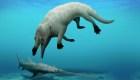 Mira el fósil de una ballena con patas en Egipto