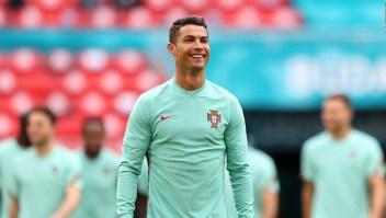 Las primeras fotos de Cristiano con el uniforme del Manchester