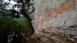 Colombia: Pinturas prehistóricas ocultas por 12.500 años