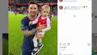 ¿Quién es el bebé de la foto con Messi?