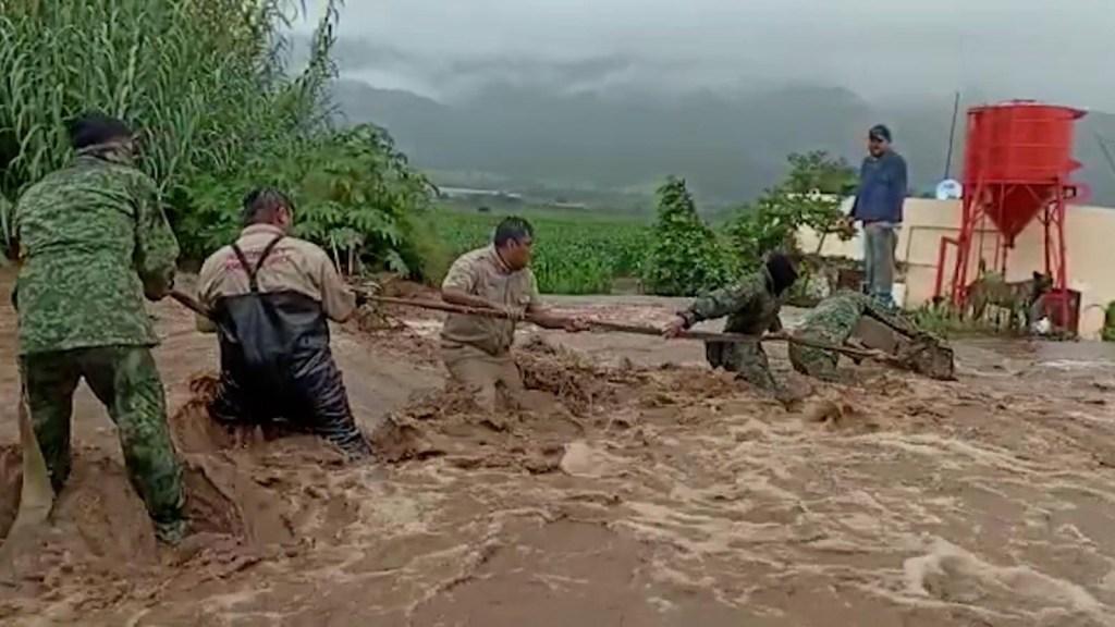 El huracán Nora deja un niño muerto en Jalisco, México